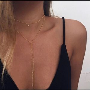 NWT Gold color chain choker✨